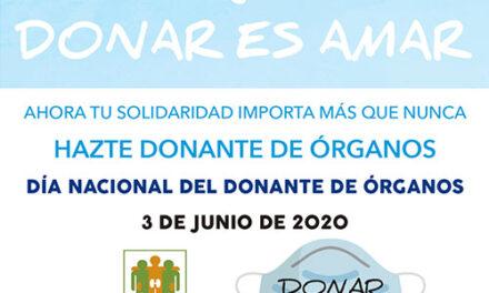 El Ayuntamiento de Jaén se suma al Día Nacional del Donante de Órganos