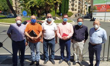 El Ayuntamiento de Jaén estudia mejoras en el tráfico en La Alcantarilla