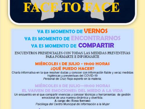 Igualdad y Juventud ponen en marcha el programa 'Face to face'