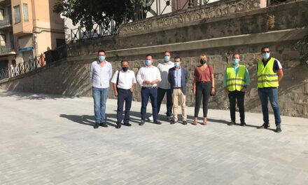 El Ayuntamiento de Jaén pone en servicio tras las obras la segunda fase de la Carrera de Jesús