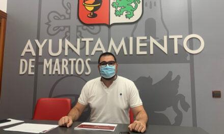 El Ayuntamiento de Martos anima a la juventud a que se presente a las distintas convocatorias de subvenciones