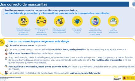La Policía Local de Martos eleva nueve denuncias por no usar la mascarilla