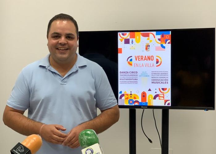 El Ayuntamiento de Martos pone en marcha el programa de dinamización socio-económica 'Verano en la Villa'