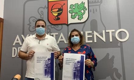 El Ayuntamiento de Martos presenta la guía de lenguaje administrativo inclusivo y no sexista