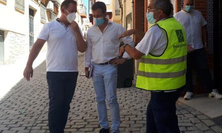 El Ayuntamiento de Jaén ultima la mejora de la calle Azulejos tras acometer la renovación de la red de suministro de agua y alcantarillado