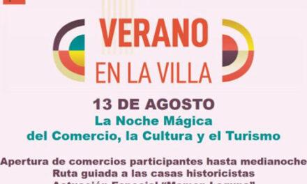 El 13 de agosto el comercio marteño celebrará una noche mágica