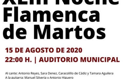 XLIII Noche Flamenca de Martos