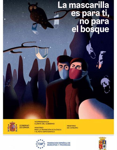 El ayuntamiento de Martos recuerda que las mascarillas deben depositarse en el contenedor gris y apela a un consumo responsable