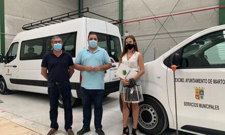 El Ayuntamiento de Martos culmina la renovación de la flota municipal de vehículos tras la inversión de unos 225.00 euros