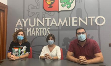 El Ayuntamiento de Martos pone en marcha acciones para dinamizar y apoyar el tejido comercial con motivo del inicio del curso escolar