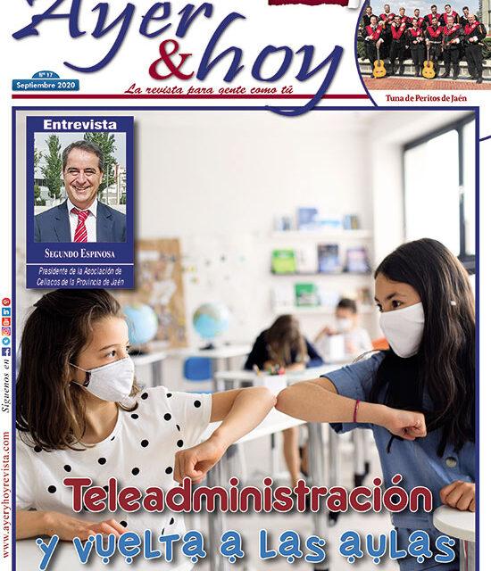 Ayer & hoy – Jaén – Campo de Oro – Revista Septiembre 2020