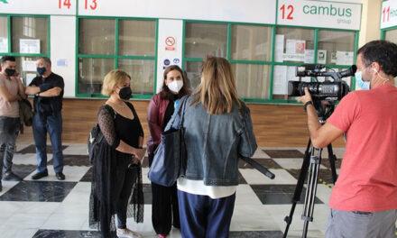 El Ayuntamiento abrirá el 1 de noviembre el Punto de Información de la Estación de Autobuses para los temporeros que acudan a la campaña de recolección de la aceituna de Jaén