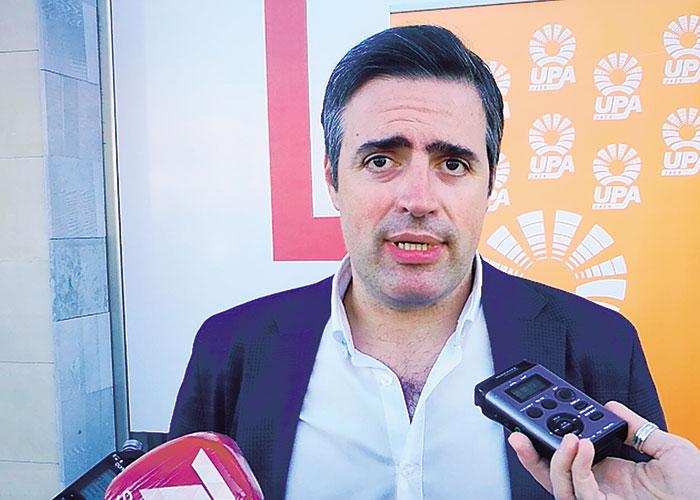 Cristóbal Cano Marín, secretario general de la Unión de Pequeños Agricultores (UPA) Jaén
