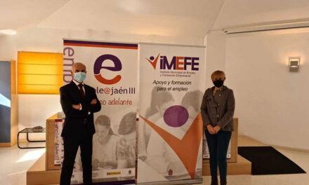 El Imefe pone en marcha su campaña de difusión del Jaén Emplea III