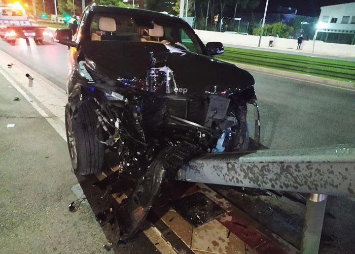 La Policía Local instruye diligencias por un delito de Seguridad Vial tras un accidente con un herido leve