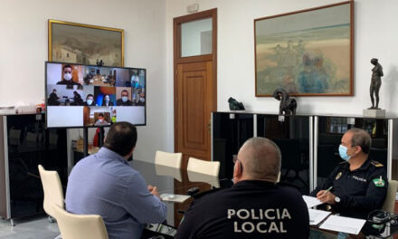 Reunión de coordinación entre las Fuerzas y Cuerpos de Seguridad y ayuntamientos para velar por el orden y proteger la salud pública
