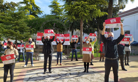 Los Hosteleros de Martos se suman a la protesta organizada por Horeca, Hosturjaen y apoyada por ASEM