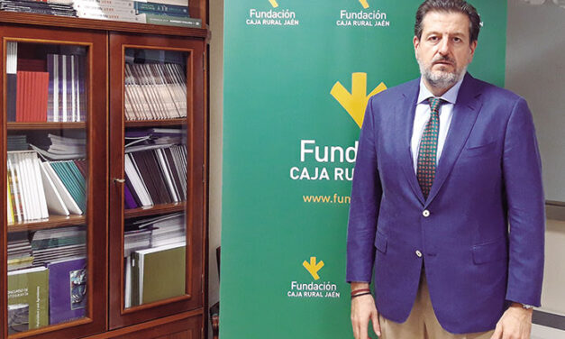 Luis Jesús García-Lomas, vicepresidente de Caja Rural de Jaén y gerente de su fundación
