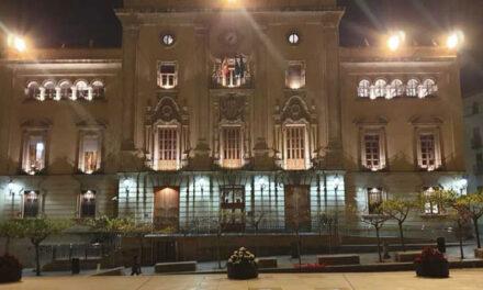 Mejora de la iluminación del Palacio Municipal para realzar su monumentalidad