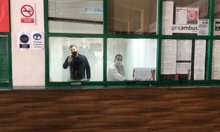 La Oficina Municipal de Atención a la persona temporera de la estación de autobuses presta apoyo a 400 usuarios en el primer mes y medio de funcionamiento