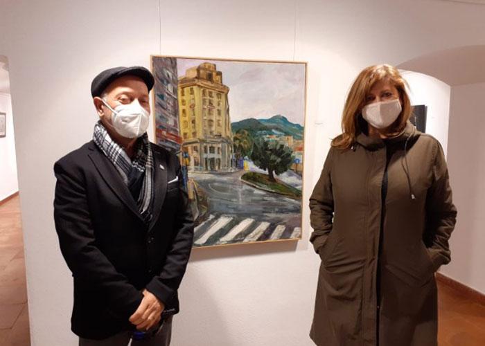 Una veintena de obras pictóricas enriquecen la VI Muestra Local de Pintura y Dibujo