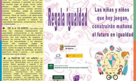 El Ayuntamiento de Martos ofrece un decálogo de propuestas para elegir Juguetes no sexistas y no violentos