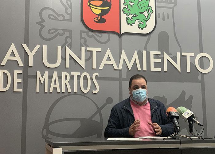 El alcalde hace un llamamiento a la prudencia y responsabilidad frente al COVID-19 pese a estar Martos en nivel 2 de alerta