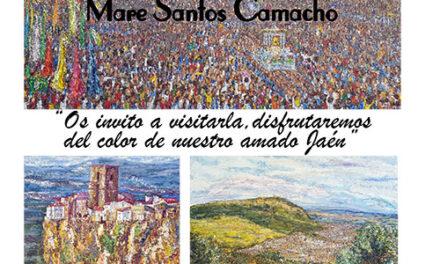 """Exposición """"Pueblos de Jaén"""" de la pintora Mare Santos Camacho"""