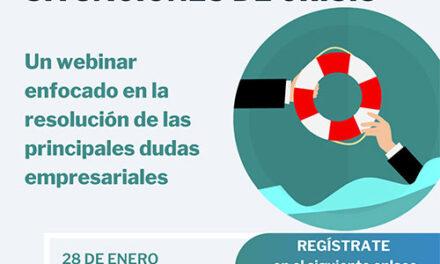 AJE Jaén organiza este jueves el webinar «Recursos para empresas en situaciones de crisis»