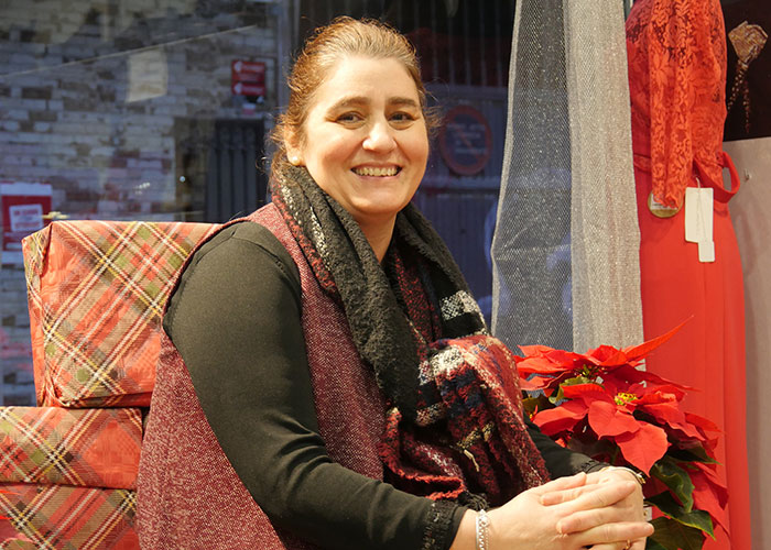 Ana María Romero García, responsable de tienda 'Moda Re' perteneciente a Cáritas
