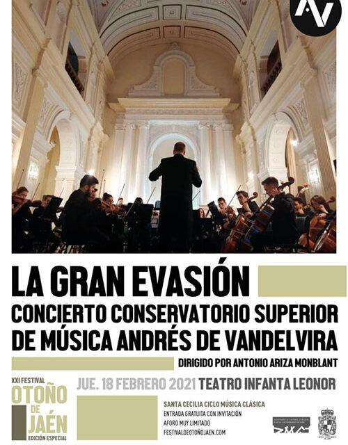 El XXI Festival de Otoño retoma su actividad con todas las entradas agotadas para el concierto del Conservatorio Superior de Música Andrés de Vandelvira