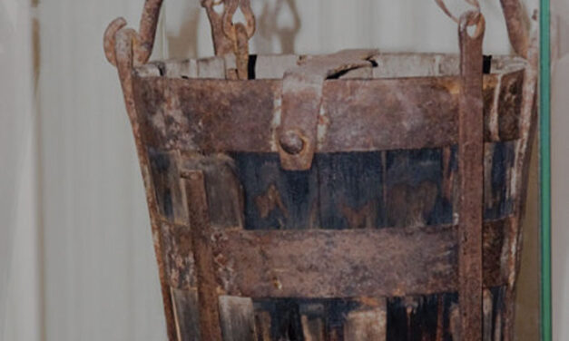 Una guerra por robar un cubo de madera
