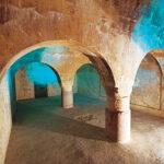 Aljibe almohade del siglo XII de Arjona