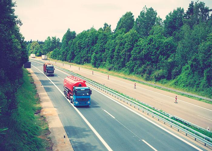Transporte de mercancías, en marcha