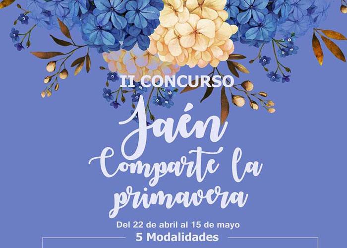 Segunda edición del concurso «Jaén. Comparte la Primavera» para el embellecimiento de balcones y rincones de la ciudad y el fomento del reciclaje