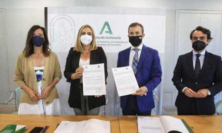 El Ayuntamiento de Jaén y la Junta firman la extinción del antiguo convenio del tranvía