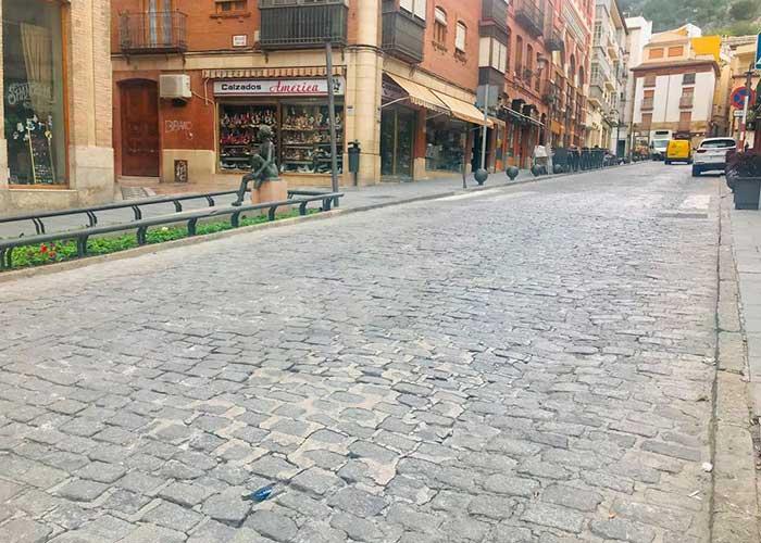 El Ayuntamiento de Jaén licita obras de arreglo de calles y acerados por unos 1,2 millones de euros para acometer en el último cuatrimestre del año