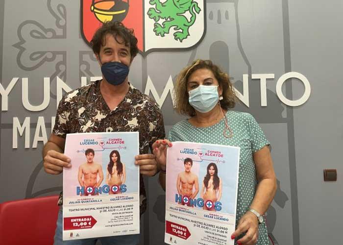 El Teatro Álvarez Alonso acoge este sábado la comedia 'Hongos'
