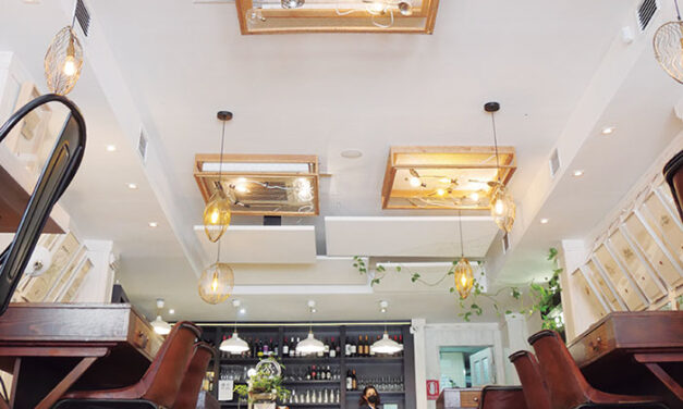 Mangas Verdes (Jaén). Apuesta innovadora de alta cocina con un toque vintage