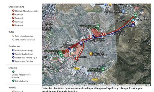 El Ayuntamiento de Jaén e IFEJA diseñan un dispositivo de Movilidad para Expoliva con alrededor de 4.300 plazas y hasta seis autobuses lanzadera