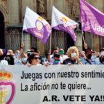 SOS de la afición del Real Jaén ante la situación crítica del club