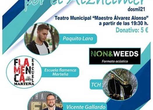 El teatro municipal acogerá el sábado la XII gala benéfica por el Alzheimer