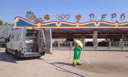 El Ayuntamiento reforzará con tres equipos extra el personal de limpieza y recogida de basura durante San Lucas y las jornadas previas y posteriores