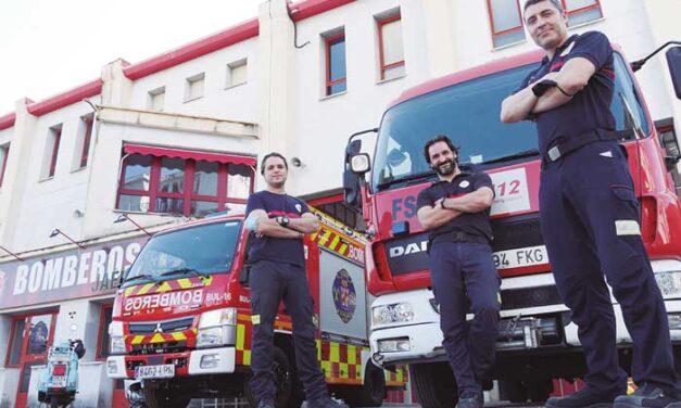 Bomberos de Jaén, un siglo trabajando  para el ciudadano